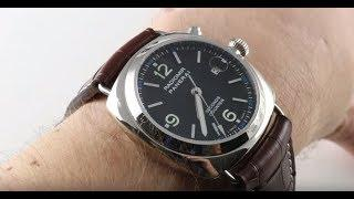 Panerai Radiomir Seconds Counter Chronograph PAM 78 Luxury Watch Review