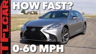 How Quick is the 2018 Lexus LS500 F-Sport?