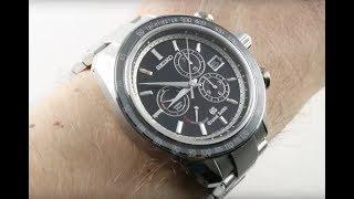Grand Seiko Spring Drive Chronograph SBGB003 Luxury Watch Review