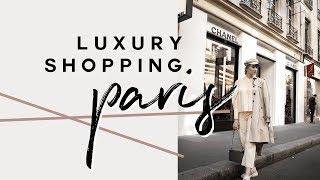 COME LUXURY SHOPPING WITH ME IN PARIS | CHANEL, YSL, GUCCI, VALENTINO | MON MODE