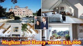 Meghan and Harry waste £33,000 on three-night holiday in luxury hotel wave the online community