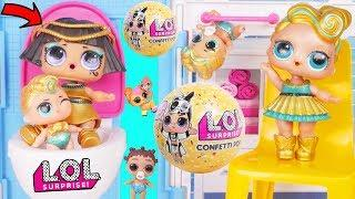Pharaoh Babe Visits Lil Luxe and Fresh at Barbie House + Play with LOL Surprise Boy Custom Punk Boi