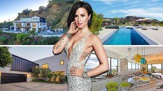 Demi Lovato's Luxury House Tour   8.3 Million   Inside & Outside