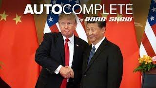 AutoComplete: Trump tweets Chinese tariff relief is happening