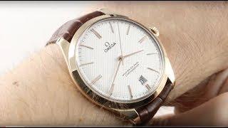 Omega De Ville Tresor (HAND WIND) 432.53.40.21.02.002 Luxury Watch Review