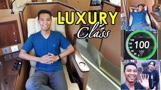 Trip by Sleeper Train - Mahal dan Mewah LUXURY CLASS Argo Bromo Anggrek