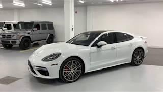 Porsche Panamera Turbo - Revs + Walkaround in 4k