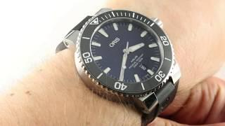 Oris Aquis Date 01-733-7730-4135-07-4-24-64EB Luxury Watch Reviews