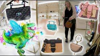 Luxury Shopping Vlog At Valentino, Prada & Chloe + Try On ????????????