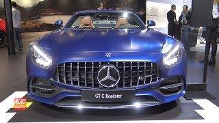 2019 Mercedes AMG GT-C Roadster - Exterior And Interior Walkaround - 2018 LA Auto Show