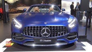 2019 Mercedes AMG GT-C Roadster - Exterior And Interior Walkaround - 2018 LA Auto Show