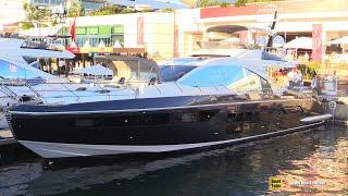 2019 Azimut S7 Luxury Yacht - Deck and Interior Walkaround - 2018 Cannes Yachting Festival
