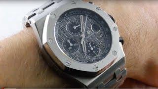 "Audemars Piguet Royal Oak Offshore ""Elephant"" Chronograph (26470ST.OO.A104CR.01) Luxury Watch Review"