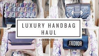 COLLECTIVE LUXURY HANDBAG HAUL | Ft. Dior, Fendi, Prada, & More
