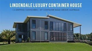 Lindendale Luxury Shipping Container Home by Container Build Group   100A Lindendale Rd, Australia