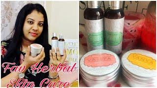 NEW HERBAL SKIN CARE | VANYA HERBAL LUXURY SKIN CARE PRODUCTS | REVIEW