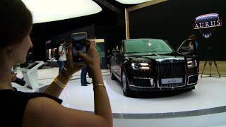 Russian carmaker seeks niche in luxury market