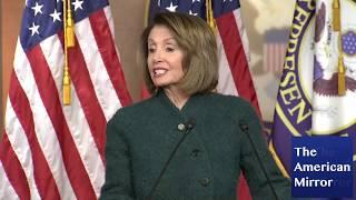 NANCY PELOSI: Border wall 'a luxury our country can't afford'