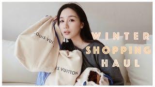 冬季购物分享Winter Shopping Haul|Luxury Haul|包包 衣服 鞋 彩妆【Missss张妞妞】