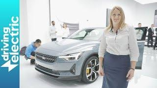 Polestar 2 revealed at the Geneva Motor Show 2019 - DrivingElectric