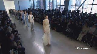 Badgley Mischka on luxury apparel business and New York Fashion Week