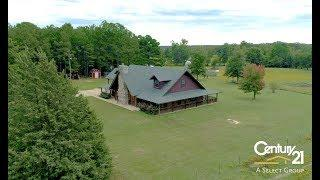 LUXURY LOG HOME ESTATE FOR SALE Marshall, Texas!