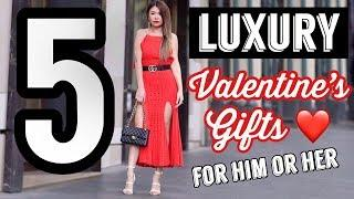 TOP 5 LUXURY VALENTINES DAY GIFTS FOR HIM & HER ❤️ | Mel in Melbourne