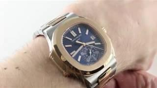 Patek Philippe Nautilus Chronograph 5980/1AR-001 Luxury Watch Review