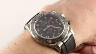 Rolex Cosmograph Daytona (Rubber Strap!) 116519 Luxury Watch Review