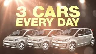 SA's Biggest Car Giveaway is BACK! WIN 1 of 150 VW up! cars