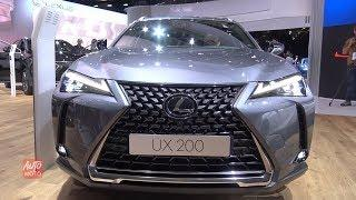 2019 Lexus UX200 2WD Luxury - Exterior And Interior Walkaround - 2018 Paris Motor Show