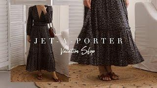 LUXURY SUMMER TRAVEL OUTFITS | NET-A-PORTER TRY ON HAUL | CITY BREAK TO BEACH VACATION | LUXY THEORY