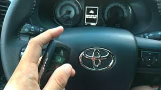 Toyota Hilux Conquest Key Fob Tutorial