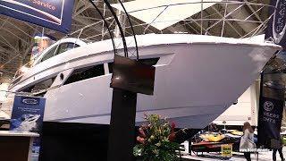 2018 Cruisers Yachts 50 Cantius Luxury Motor Yacht - Walkaround - 2018 Toronto Boat Show
