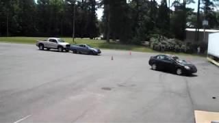 TrailerGuard Safety Skirt Side Crash Test
