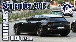 Luxury Cars in Kiev (09.2018) Ferrari GTC4Lusso