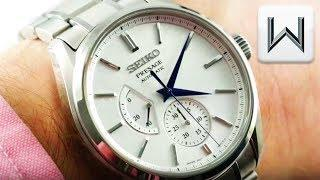"Seiko Presage Automatic ""Baby Snowflake"" SARW041 Luxury Watch Review"
