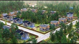 Новый коттеджный поселок Ваутутинки Luxury на Калужском шоссе 15 км| Новая Москва