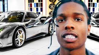 A$AP Rocky 600000$ Cars Collection in 2018