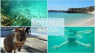 ROTTNEST ISLAND QUOKKAS & SNORKELLING | TRAVEL VLOG | LUX LIFE