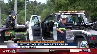 Motorcyclist dies in fatal crash after running red light in Delray Beach
