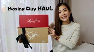 What Did I Buy on Boxing Day| Luxury Hits and Misses| Roger Vivier, Christian Louboutin,  Kiehl's