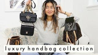 My Luxury Handbag Collection! | louis vuitton, dior, chloe, vintage and more!