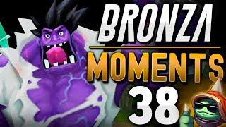 LOS PENTAKILLS DE HIERRO | BRONZA MOMENTS (Capítulo 38) League of Legends