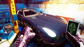 Hacking Then Stealing Luxury Car In Rich Neighborhood! - Thief Simulator