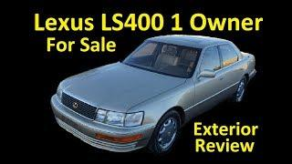 1993 LEXUS LS400 LUXURY SEDAN 1 OWNER LOW MILE FOR SALE EXTERIOR
