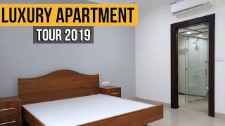 Apartment Tour 2019 Luxury Apartment 4BHK Duplex | Pent House Tour, North Bangalore