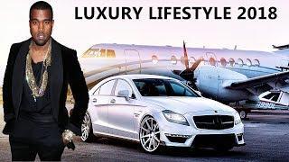 Kanye West Luxury Lifestyle 2018