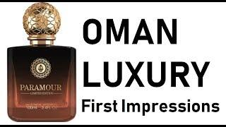 Oman Luxury first impressions Fragrance review - LONG See TIMELINE