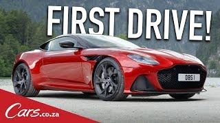 The New Aston Martin DBS Superleggera - Driven Flat-Out in Germany
